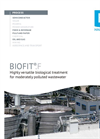 BIOFIT®.F - Highly versatile biological treatment for moderately polluted wastewater