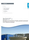 BIOFIT®.H - Biological pre-treatment of highly polluted wastewater from industrial processes