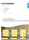 FLOCOPAC®.L - High performance clarifier with flocculation and sludge thickening