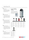Hailo - Model Quick 50 - Waste Bins Datasheet