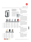 Model T2.13 - Pedal Waste Bins Datasheet