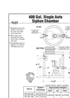 Single Auto Siphon Chambers – Brochure