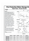 Fire Protection Watertight Cisterns Brochure