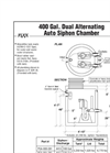 Dual Alternating Auto Siphon Chambers - Brochure