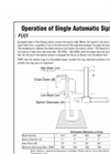 Auto Siphons Operations and Specifications - Brochure