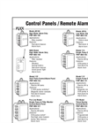 Control Panels/Remote Alarms - Brochure
