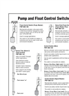 Float Control Switches - Brochure