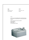 Oasis - Model FLF100 - On-A-Wall Non Refrigerated Stainless Steel Drinking Fountain Datasheet