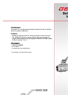GEMÜ - Model 707 - Manually Operated Ball Valve - Datasheet