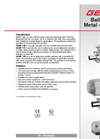GEMÜ - Model 740 - Manually Operated Ball Valve - Datasheet