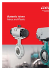 GEMÜ  - Butterfly Valves Metal and Plastic - Brochure