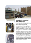BioGasClean - On-Site Tank for Biological Removal of High H2S Loads - Brochure