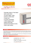 Ribble Enviro - Model GDS 100 - Ffixed Single Point Alarm Unit - Brochure