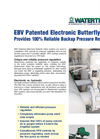 Watertronics - Electronic Butterfly Valve (EBV) Brochure