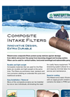 Watertronics - Composite Intake Filters Brochure