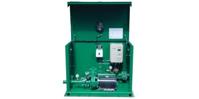 WaterMax - Model Series 5000 - Prefabricated, Self-Enclosed Pump Station