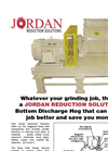 Jordan-Reduction - Rubber Grinder Brochure