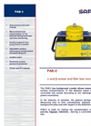 PAB-2 - α and β Smear and Filter Test Monitor Datasheet