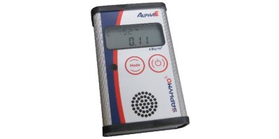 Radon Exposimeter AlphaE - Professional Meter for Radon Concentration, Personal Exposure and Dose