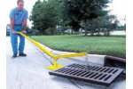 Grate Lifter for Street Drains
