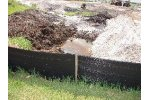 Silt Fence - Geotextile, Silt Barriers, Turbidity Curtain