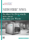 Newster - Model NW5 - Healthcare Waste Machine - Brochure