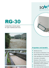 Sommer - Model RG-30 - Surface Velocity Radar Sensor Brochure