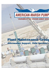 Model 300 SERIES REF - General Purpose End Suction Pumps Brochure