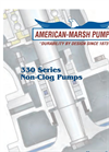 NCCC - Model 330 SERIES - Solids Handling Pumps- Brochure