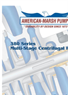 Model 380 Series HH - Multi-Stage Split Case Pumps- Brochure