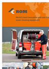 Model ROM 900 - Sewer Cleaning Trailer Brochure