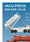 Vacu-Press - Model 8000 Hi-Lift - Vacuum Trucks - Brochure