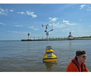 LimnoTech Ends Season of Deploying Data Buoys on the Great Lakes