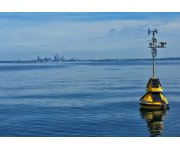 LimnoTech Places Environmental Data Buoys near Cleveland