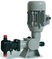 Doseuro - Model Series SR Type D - Spring Return Mechanical Diaphragm Pump