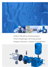 Alltech - FKM - Piston Diaphragm Metering Pumps Brochure