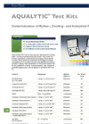 Aqualytic Test-Kits - Brochure