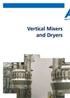 AVA-Vertical Mixers and Dryers Brochure