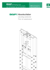BAP - Model 6 - Lowering Penstock Brochure