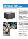PIG - Model MAT203 - Absorbent Mat Pad - Brochure