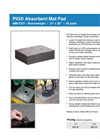 PIG - Model MAT231 - Absorbent Mat Pad - Brochure