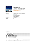 Aqua Designer - Version 8.0 Updateinfo Software Manual