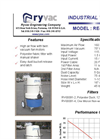 Twin Vac Model RE-115-AL Brochure