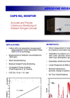 CAPS - NO2 Monitor Brochure