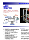 Aerodyne - Aerosol Chemical Speciation Monitor (ACSM) Brochure