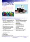 Aerodyne - Mini Laser Trace Gas Monitor Brochure