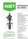 AGET - Model DUSKTOP - Pull-Through Cyclone Dust Collectors - Brochure