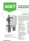 AGET - Model SC Series  - Dust Collectors - Brochure
