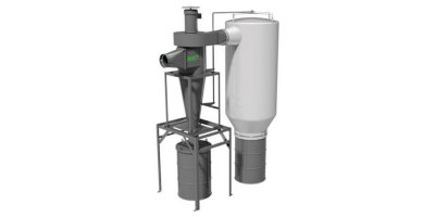 AGET - Model SC Series - Pull-Through (with Bag-Type After Filter) Dust Collectors