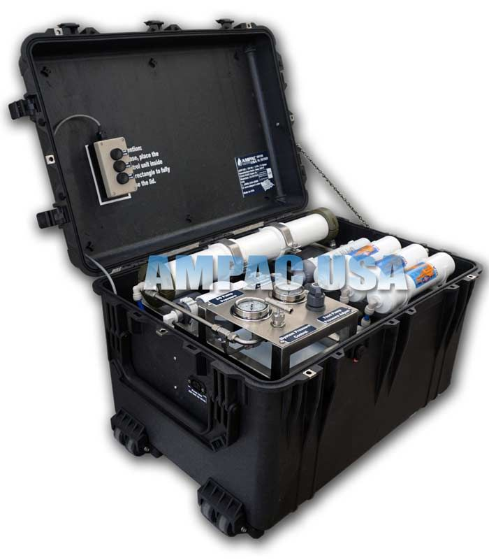 Ampac - Model 150GPD & 560LPD - Portable Emergency Seawater Desalination Watermaker